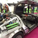 Obligatory Trade Show DeLorean